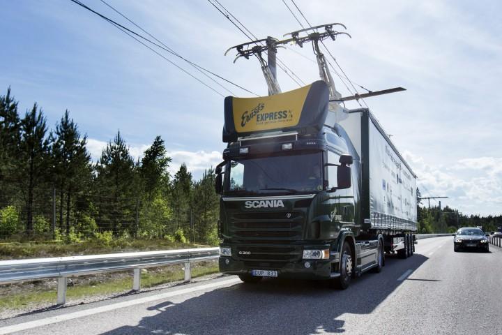 Scania - prva cesta na struju