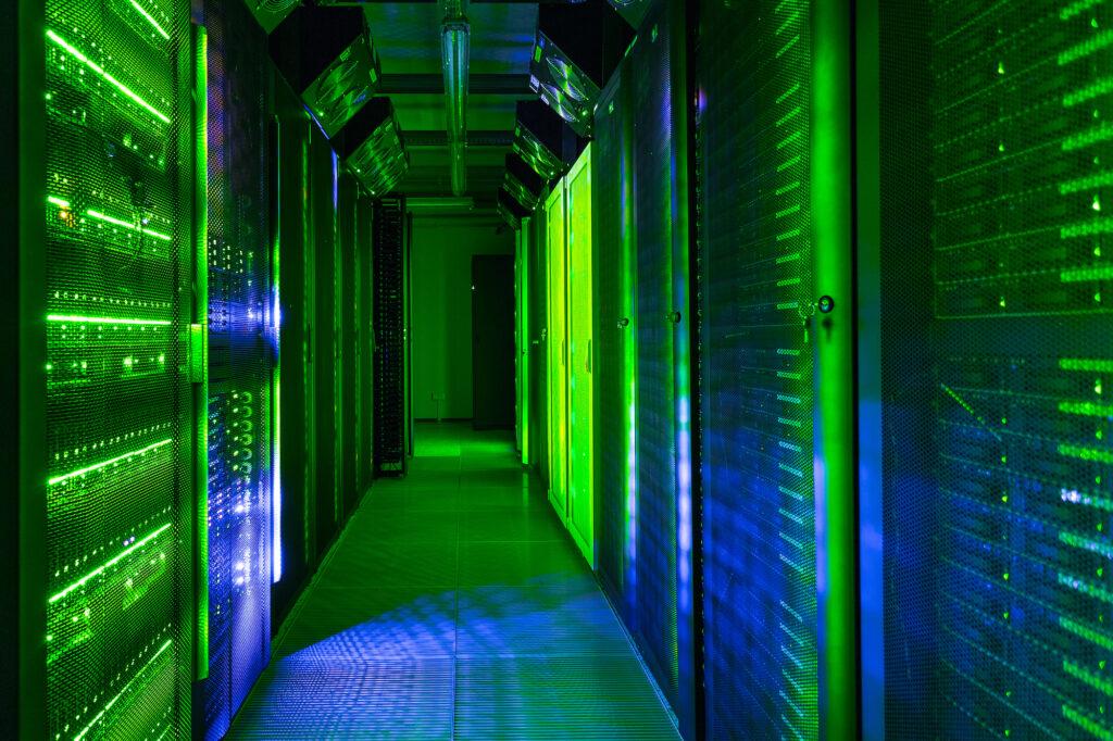 zeleni web hosting